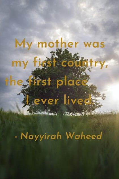 beautiful quote on motherhood
