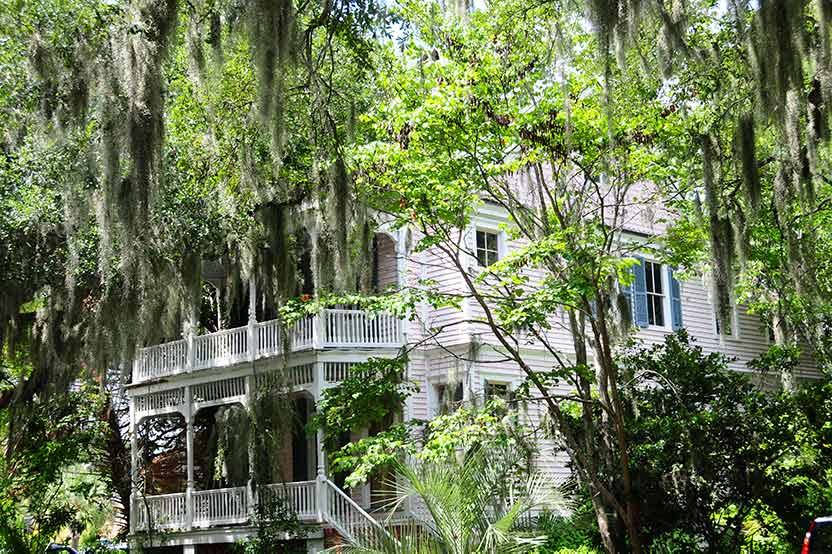 Beautiful mansion in Beaufort, Sc