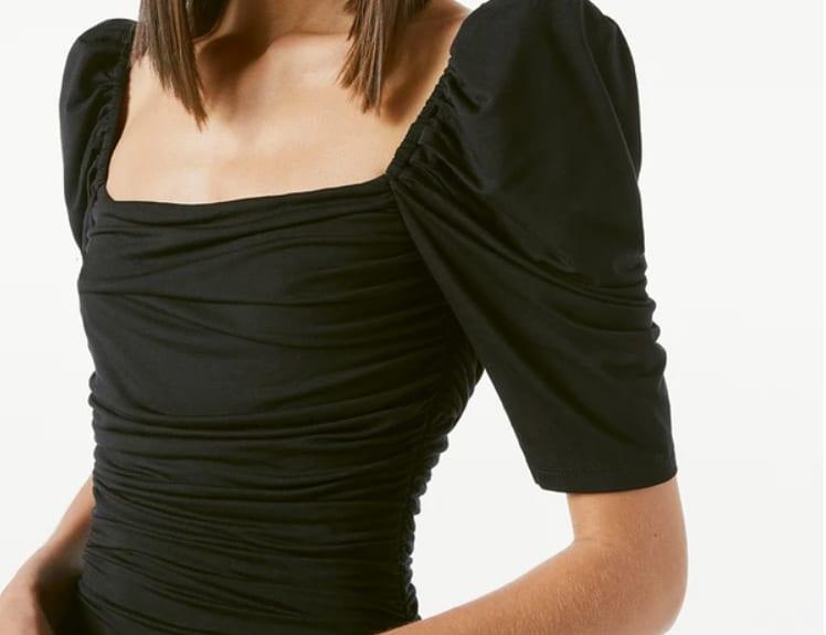 Valentine's Look - simple chic black top
