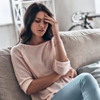 woman experiencing fatigue