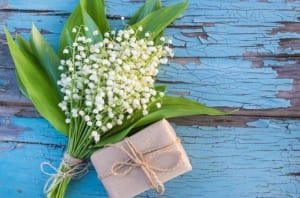 Lily of the Valley - symbolize the return of happiness