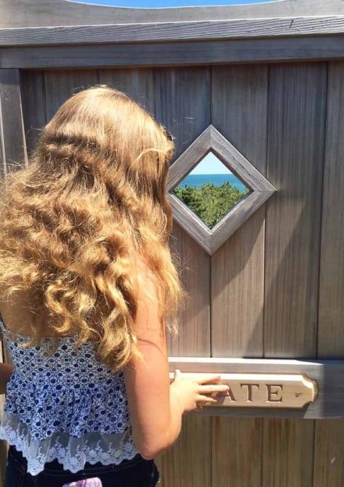 teenage daughter eyeing opportunities