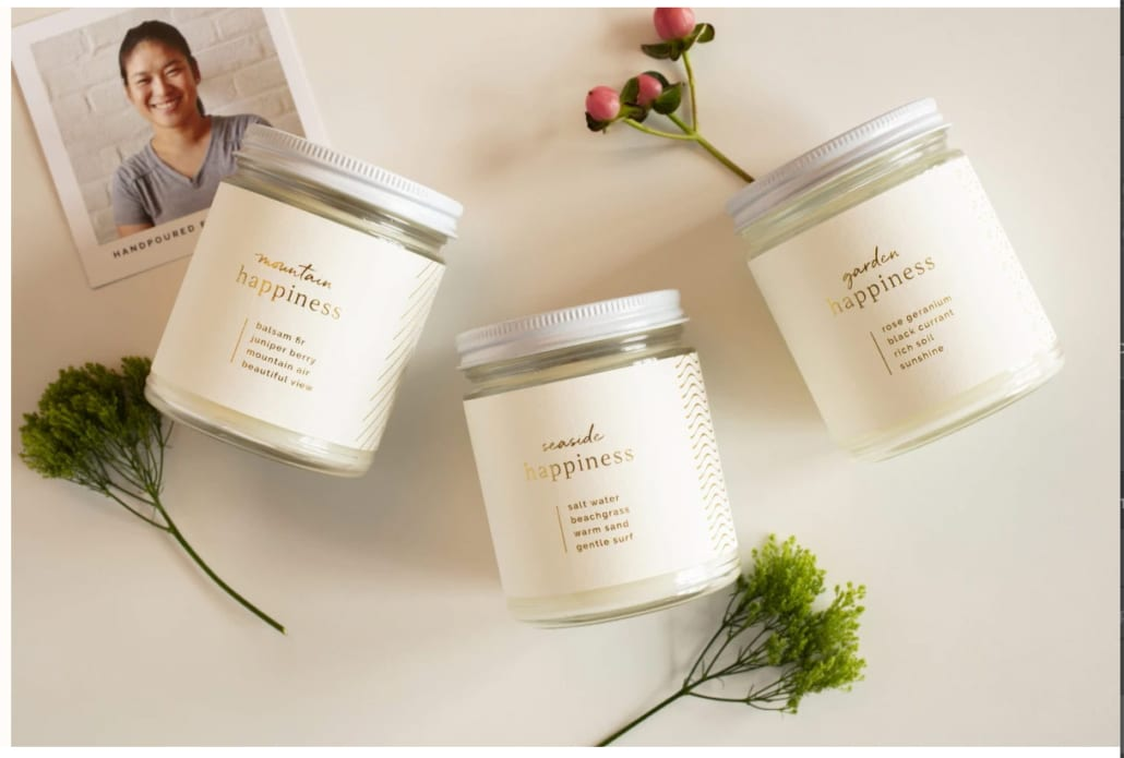 Prosperity candles - affordable gift for Mother's Day