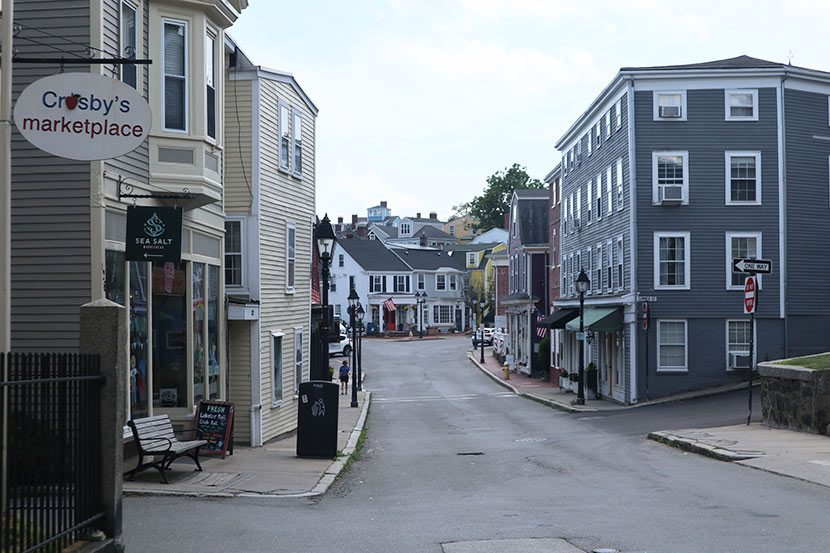 Historical town of Marblehead